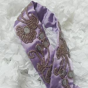 Gorgeous beaded belt